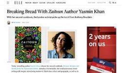 Yasmin Khan in Elle magazine