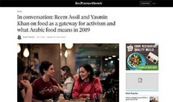 Yasmin Khan featured in the San Francisco Chronicle
